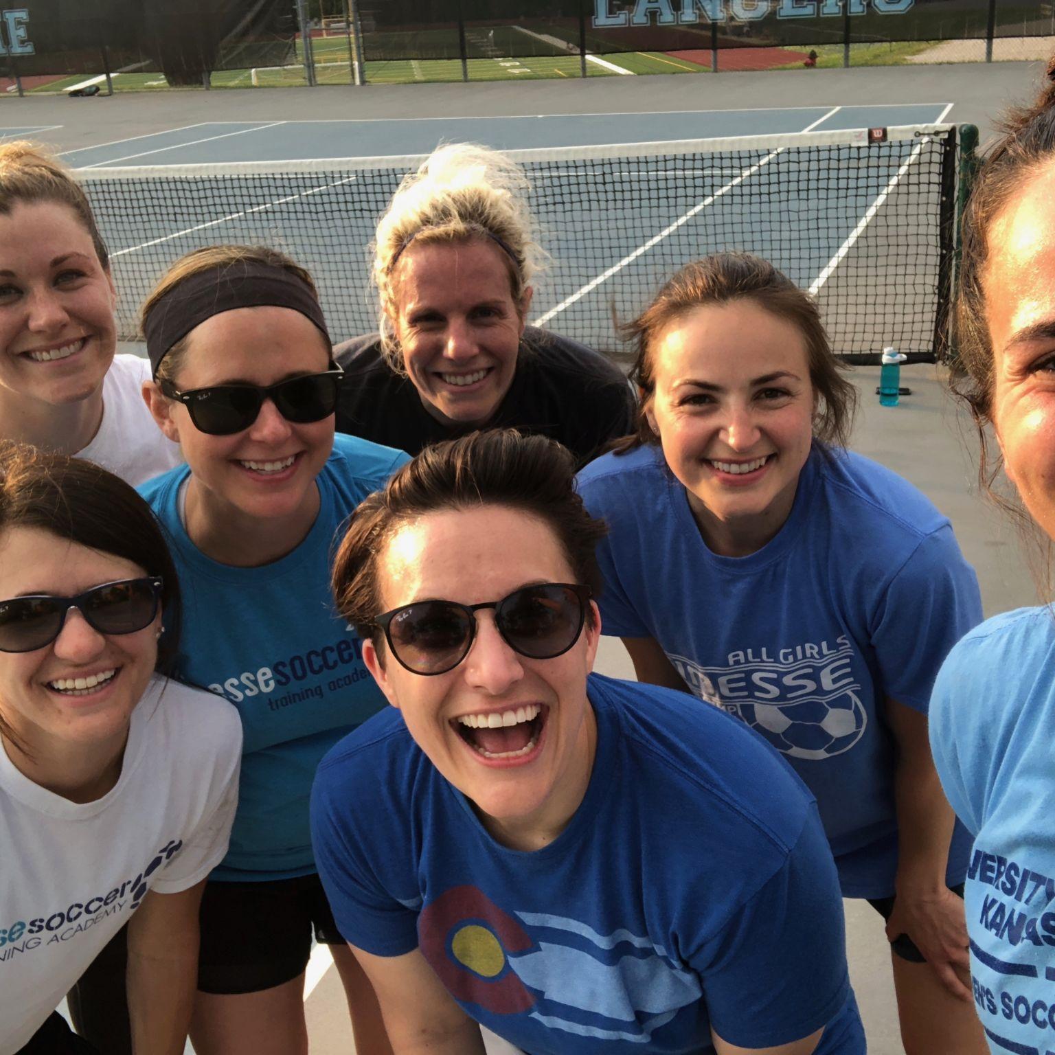 team soccer tennis